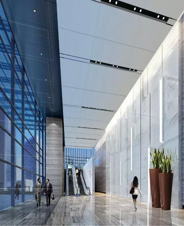 深圳万豪酒店办公大堂设计图片