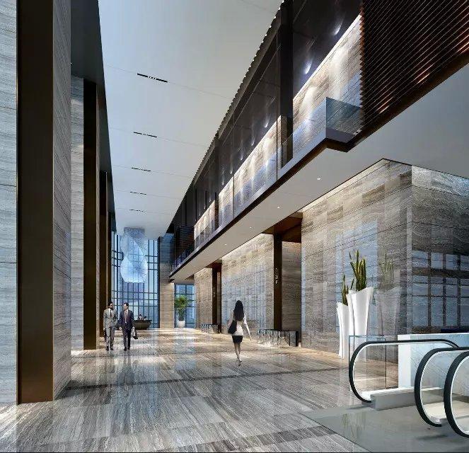 深圳万豪酒店二层办公大堂图片欣赏