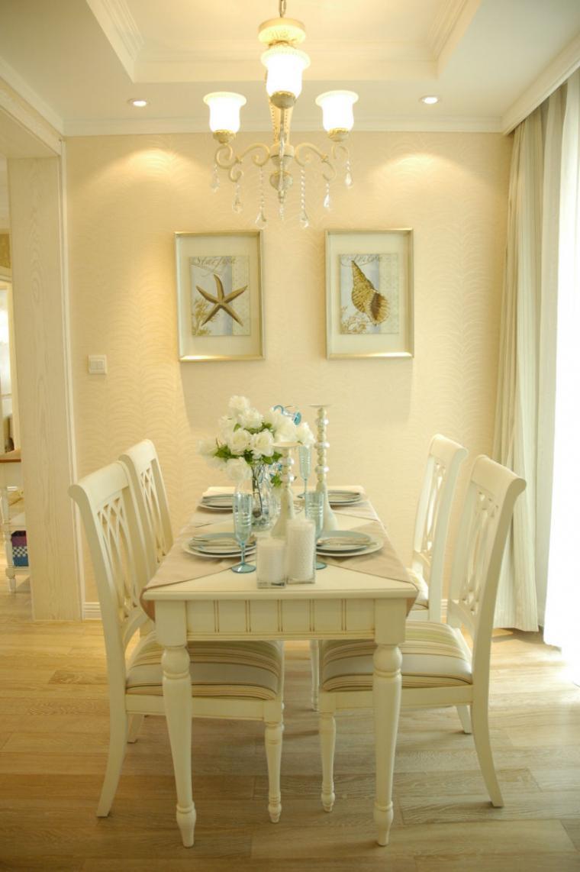 120平米温馨欧式风格餐厅装修设计