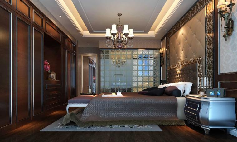 美式風格臥室隔斷圖片欣賞