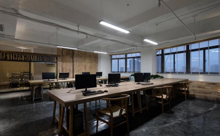 現代辦公室室內效果圖片欣賞