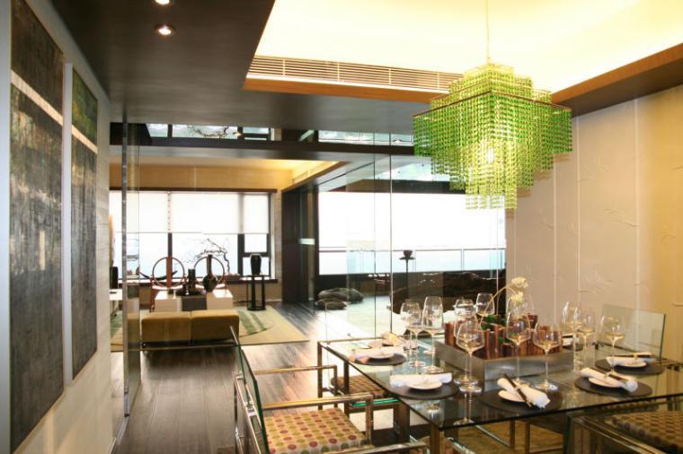 鹭岛国际餐厅现代风格装修