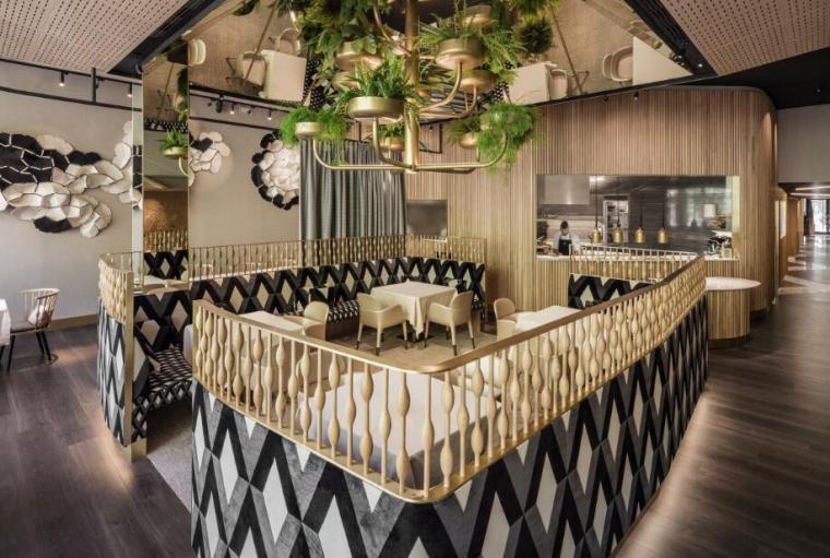 Mextizo餐廳裝修設計二