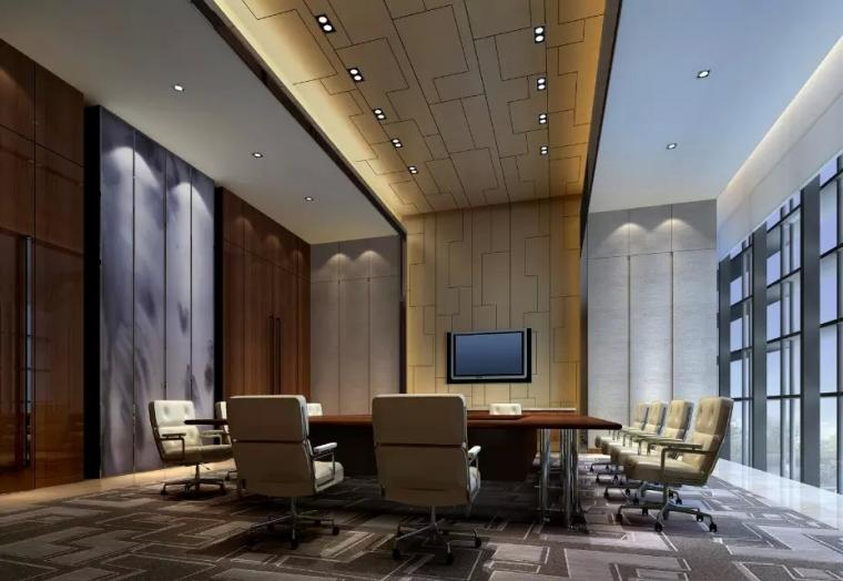 深圳万豪酒店会议室装修设计欣赏