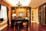 歐式風格四居室家庭裝修樣板房圖片