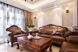 揚州天下130平歐式古典風家裝設計效果圖