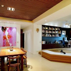 日式風格樂居三居裝修效果圖