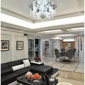 辰龍廣場歐式風格四居室裝修樣板間圖片