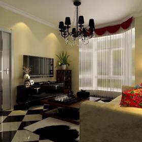 74平混搭小戶型家居設計圖