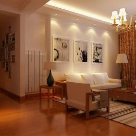 簡約中式時尚四居室裝修設計