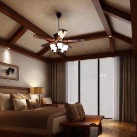 云畝天朗4層500平新中式風格裝修效果圖