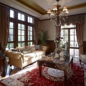 四室兩廳兩衛美式裝修風格樣板間