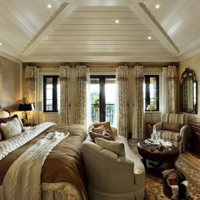 歐式田園風格三居室裝修樣板間