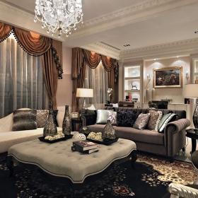 新古典豪華四居室裝修樣板間
