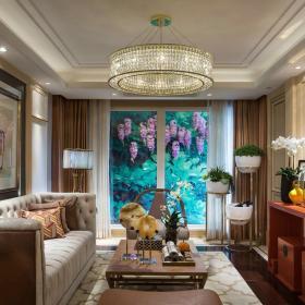 中西合璧新中式家装效果图