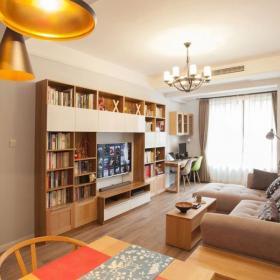 北歐風格100平米樓房裝修設計案例