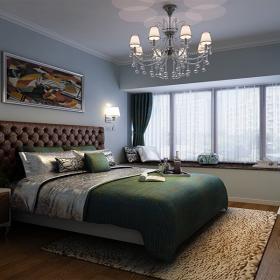美式風格樓房裝修效果圖
