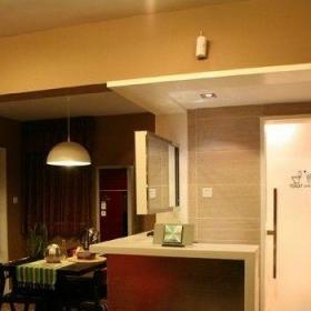 80后客厅吧台装修效果图欣赏
