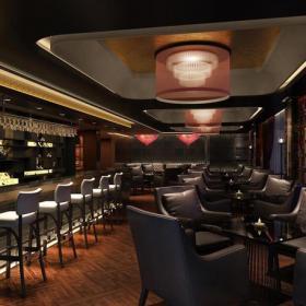 简约风格酒吧吧台装修图片效果图欣赏