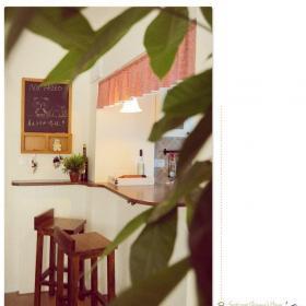 89平米日式风格公寓温馨经济型吧台吧台椅图片效果图