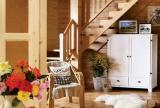 实木家具别墅跃层餐厅楼梯万分亲切的实木之家装修效果图