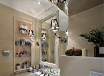 现代简约三居室卫生间楼梯装修效果图欣赏