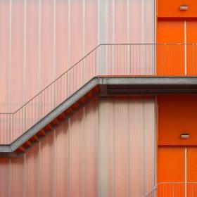 不銹鋼樓梯效果圖