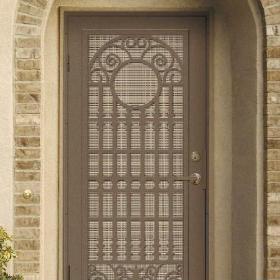 住宅防盜門窗設計圖片效果圖