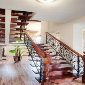 扶手實木樓梯實木樓梯簡約風格鐵藝樓梯扶手裝修圖片裝修效果圖