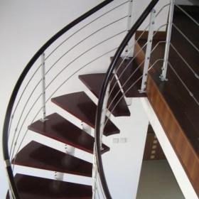 閣樓旋轉樓梯設計實景圖效果圖