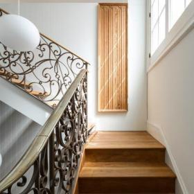 復式住宅設計室內樓梯效果圖