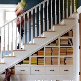 跃层楼梯效果图