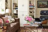 家居收纳好舒服的田园风客厅装饰效果图