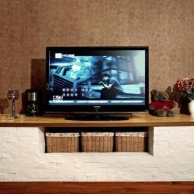 客厅田园组合电视柜电视柜装修效果图