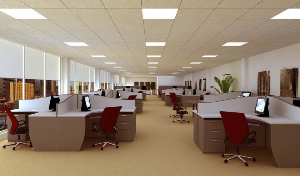 写字楼办公室装修图效果图