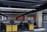 写字楼员工办公区装修设计图片效果图