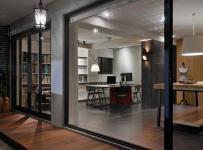 辦公家具簡約公共空間工裝寫字樓簡潔寬敞的辦公樓設計裝修效果圖