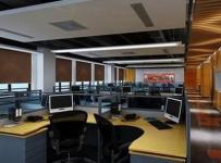 现代简约风格写字楼办公室装修图片-现代简约风格办公桌椅图片