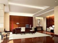简约中式风格写字楼办公室装修图片-简约中式风格办公桌椅图片