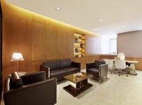 办公沙发办公家具简约公共空间工装写字楼简洁宽敞的办公楼设计装修效果图