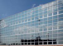 三層寫字樓全玻璃幕墻效果圖