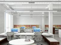 寫字樓辦公室設計效果圖片案例效果圖