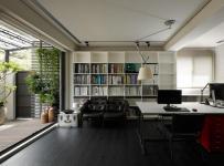 辦公臺辦公家具簡約公共空間工裝寫字樓簡潔寬敞的辦公樓設計效果圖大全
