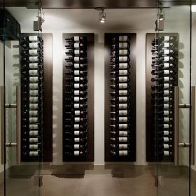 现代酒窖设计效果图