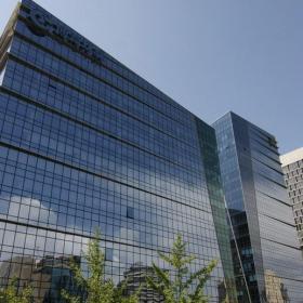 高层写字楼全玻璃幕墙设计图片效果图