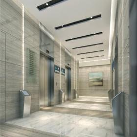 写字楼电梯间