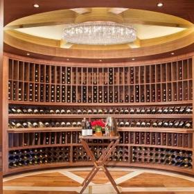 住宅美式酒窖设计效果图