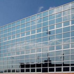三层写字楼全玻璃幕墙效果图