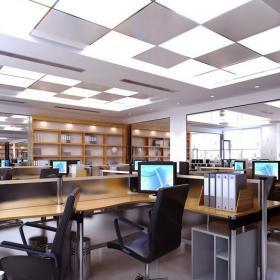寫字樓辦公室設計圖片案例效果圖