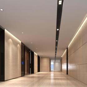 写字楼电梯间装饰设计效果图